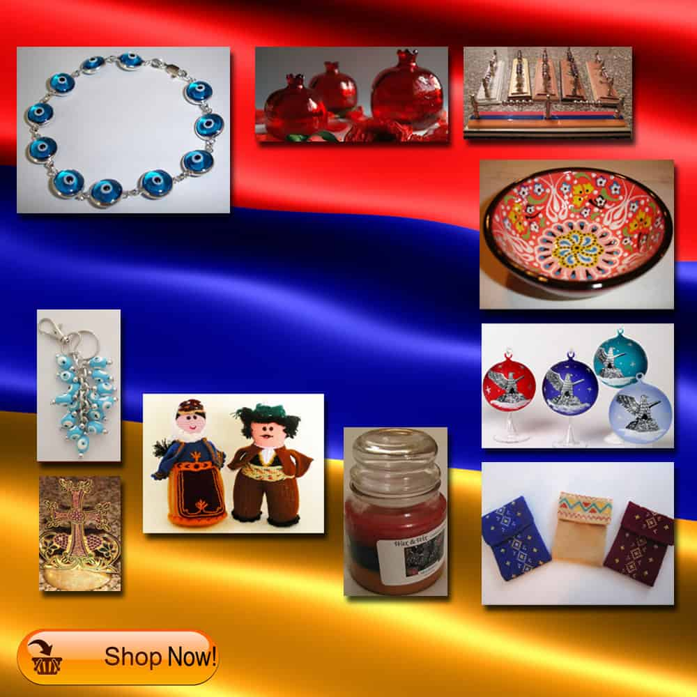 New Armenian Gifts at Our Armenian Gift Shop
