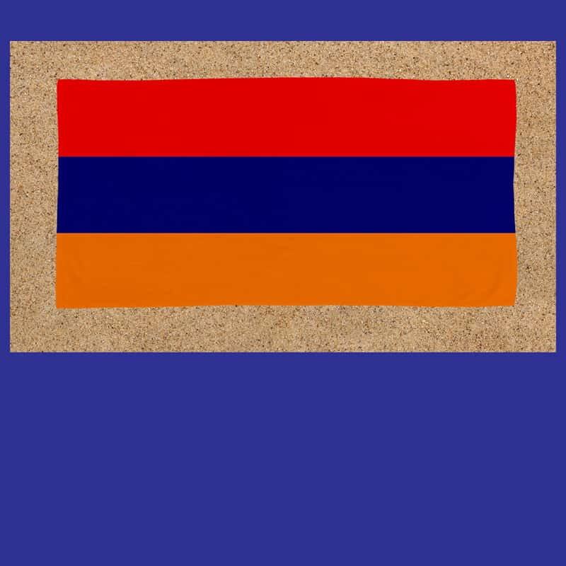 Armenian beach towel
