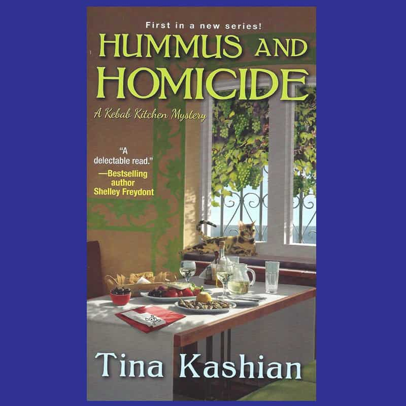 hummus and homicide book