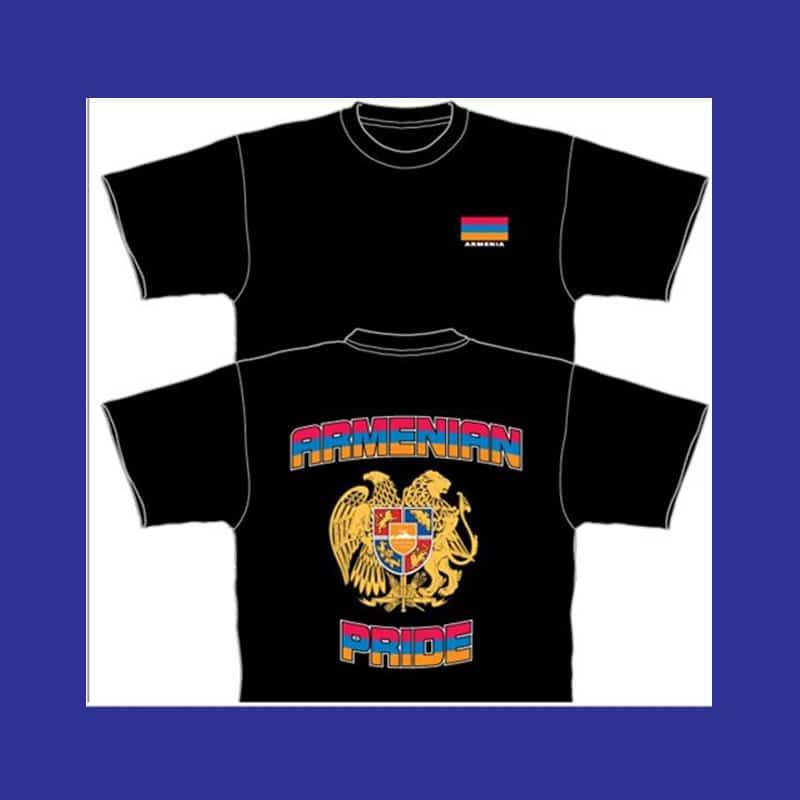 ADULT TSHIRT2 - ARMENIAN PRIDE T-Shirt