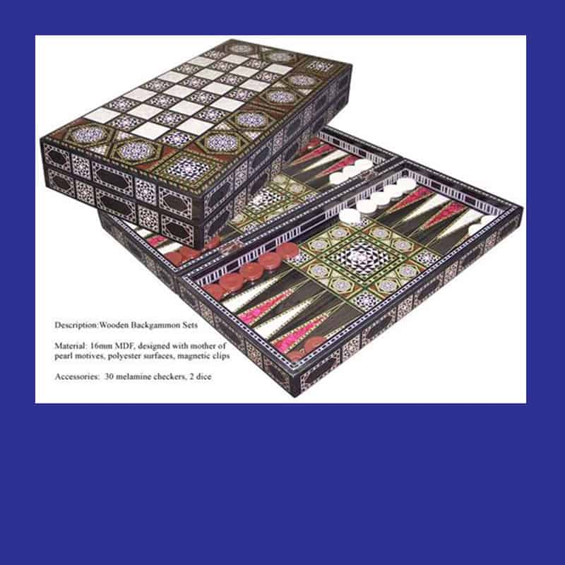 BACKGAMMON - LARGER BOARD