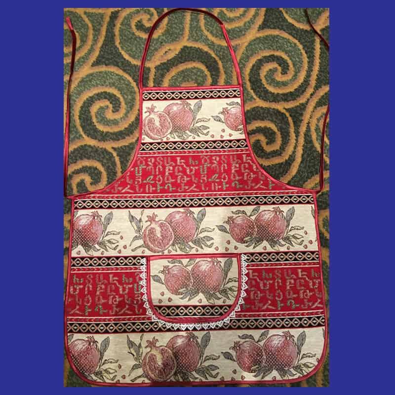 HAND MADE APRON - TARAZ 1 - armenian apron