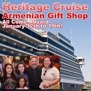 Armenian Cruise - Heritage Cruise Armenian Gift Shop