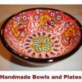 armenian handmade bowls & plates